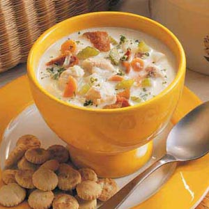 Panfish Chowder Recipe
