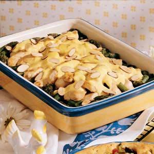 Lemon-Curry Chicken Casserole Recipe