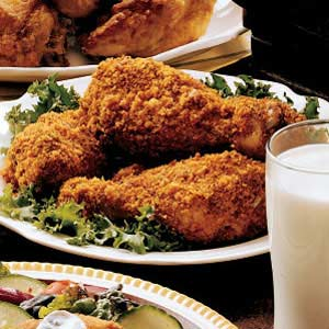 Mustard Drumsticks for Two Recipe