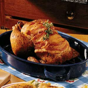 Roasted Chicken with Brown Gravy Recipe