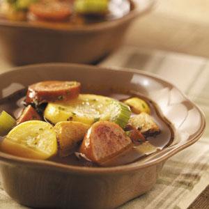 Smoked Sausage Soup Recipe
