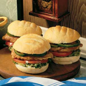 Teriyaki Chicken Sandwiches Recipe