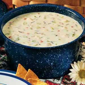 Simple Wild Rice Soup Recipe