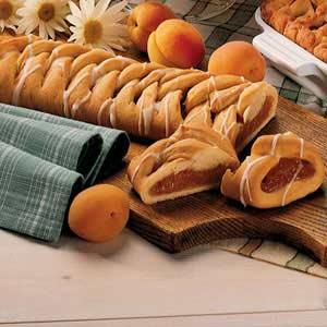 Glazed Apricot Coffee Cake Recipe