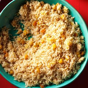 Rice Pilaf with Apples & Raisins Recipe