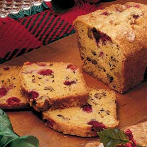 Cranberry Orange Loaf Recipe