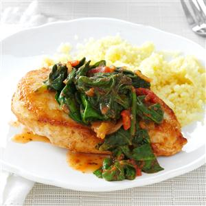 In-a-Pinch Chicken & Spinach