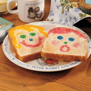 Funny Face Toast Recipe