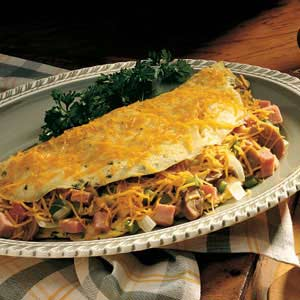 Hearty Ham Omelet Recipe