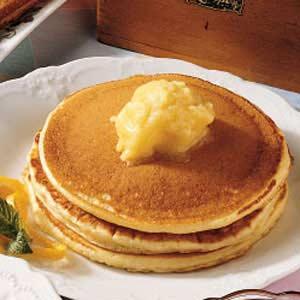 Pancakes with Orange Honey Butter Recipe