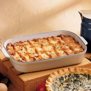 Sausage Quiche Casserole Recipe