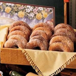 Snowflake Doughnuts Recipe