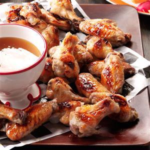 Quentin's Peach-Bourbon Wings Recipe