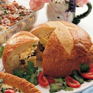 Stuffed Breakfast Loaf Recipe
