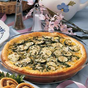Zucchini Brunch Pie Recipe