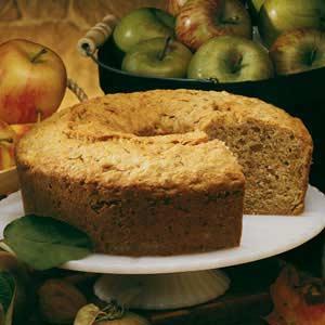 Old-Fashioned Apple Walnut Cake Recipe