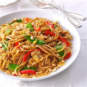 Thai Chicken Linguine Recipe