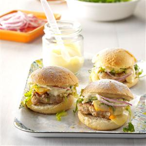 Loaded Turkey Sliders Recipe