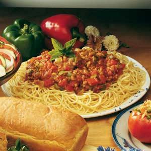 Italian Garden Sauce Recipe