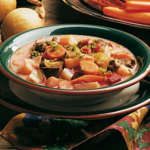 Russian-Style Vegetable Soup Recipe