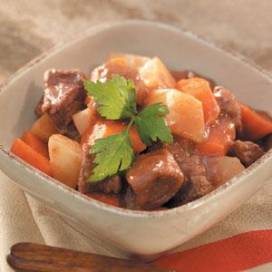 Skier's Stew Recipe