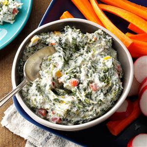 Healthy Spinach Dip Recipe