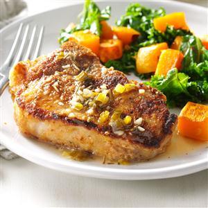 Chardonnay Pork Chops Recipe