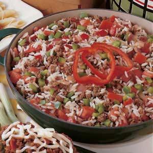 Garden Skillet Supper Recipe