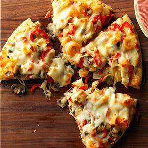 Shrimp & Crab Pizza Recipe