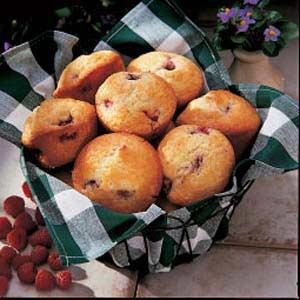 Raspberry Lemon Muffins Recipe