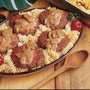 Salisbury Steak with Mushroom Sauce Recipe