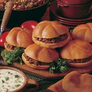 Sicilian Burgers Recipe