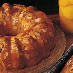 Easy Almond Apricot Coffee Cake Recipe