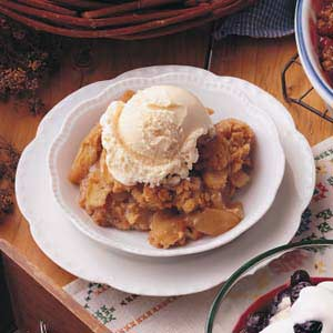 Potluck Apple Crisp Recipe