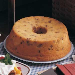 Black Walnut Pound Cake Recipe