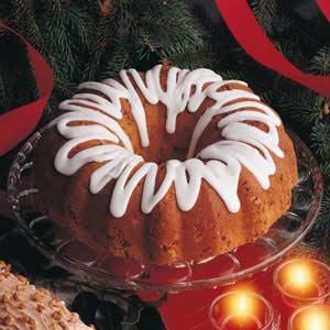 Holiday Pound Cake Recipe