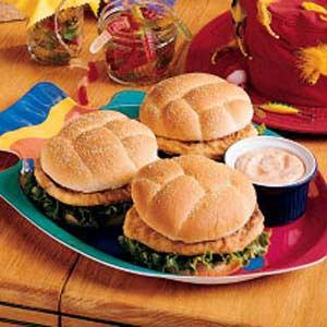 Saucy Fish Sandwiches Recipe