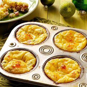 Ham & Gruyere Mini Quiches