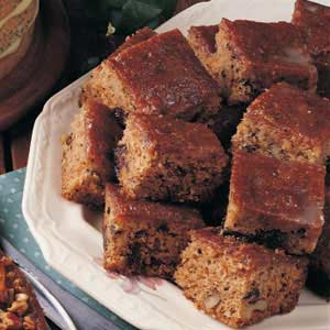 Prune Cake with Glaze Recipe