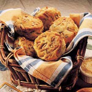 Savory Almond-Buttermilk Biscuits Recipe