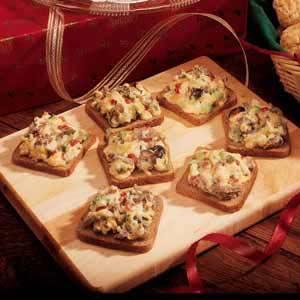 Savory Rye Snacks Recipe