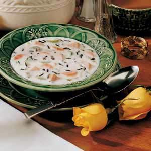 Creamy Wild Rice Soup Recipe