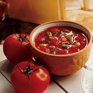 Low-Fat Gazpacho Recipe