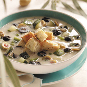 Icy Olive Soup Recipe