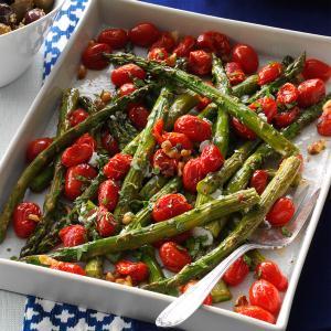 Roasted Asparagus & Tomatoes Recipe
