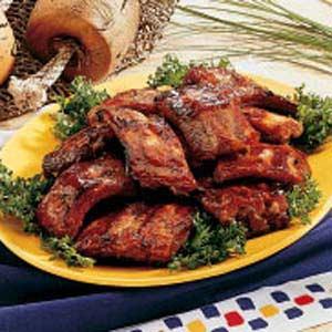 Honey-Garlic Pork Ribs Recipe
