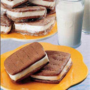 Homemade Ice Cream Sandwiches Recipe