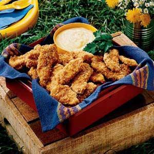 Sesame Chicken Strips Recipe