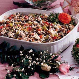 Chicken Wild Rice Dish Recipe