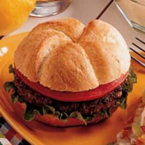 Meat Loaf Hamburgers Recipe